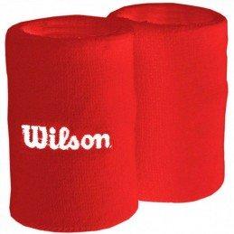 Muñequera Wilson Rojo...