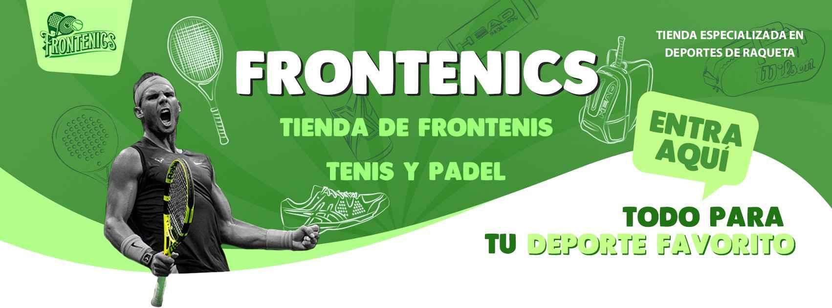 Tienda de Frontenis, Tenis y Padel